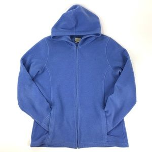 L.L.Bean Hooded Fleece Sweatshirt Medium